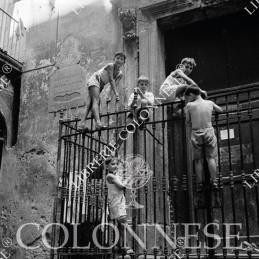 Scugnizzi - Fotografia Carbone