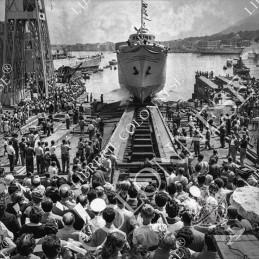 1955. Il varo - Fotografia...