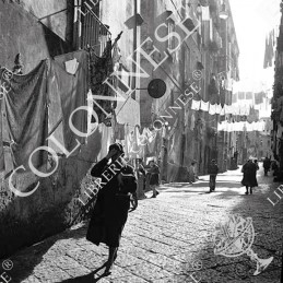 1962. Vicolo in chiaroscuro...