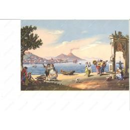 gouaches-veduta-di-napoli-dal-mare--riproduzione