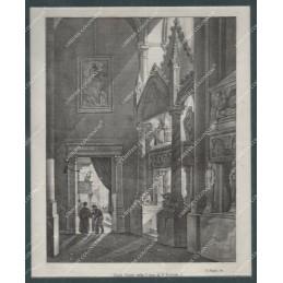 regie-tombe-nella-chiesa-di-san-lorenzo-litografia-roiginale-depoca