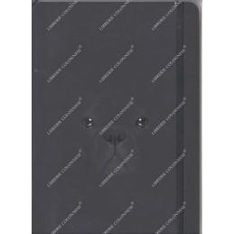notebook-nero-cane-righe