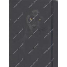 notebook-nero-pantera-fogli-bianchi