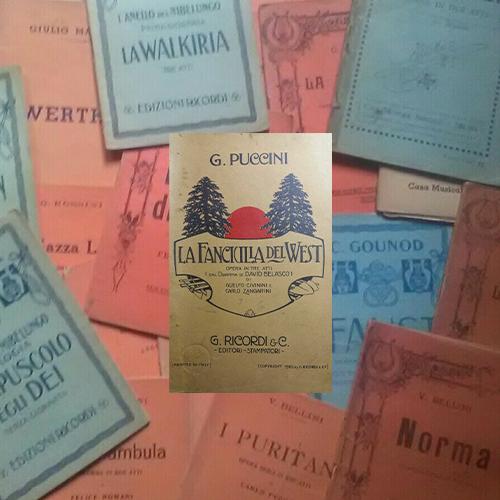 Libretti teatrali opera